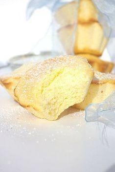 Moelleux mousseux au citron : Absolument délicieux ! Réalisé une autre fois en gâteau avec les même proportions et 3 citrons (30 minutes de cuisson). Gâteau léger, à faire et refaire !