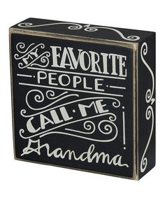 Take a look at the 'My Favorite People' Wall Sign on #zulily today!