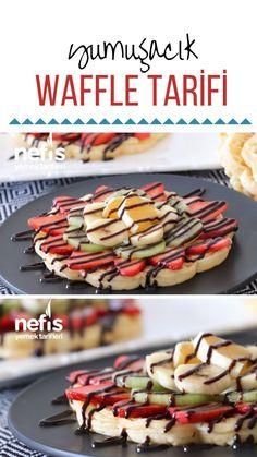 Videolu anlatım Yumuşacık Waffle Tarifi (videolu) nasıl yapılır? 2.378 kişinin defterindeki bu tarifin videolu anlatımı ve deneyenlerin fotoğrafları burada. Yazar: Esinle Harika Lezzetler Crumpets, Waffle Recipes, Tart, Brunch, Food And Drink, Cooking Recipes, Yummy Food, Snacks, Healthy