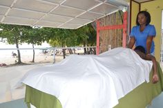 If you're at Accra Beach, we would love to soothe you with our signature massage!