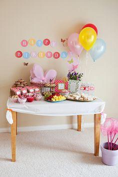 Butterfly Tea Party PRINTABLE DIY Custom Birthday by lovetheday