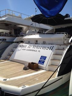 """""""Straight To Voicemail""""boat name"""