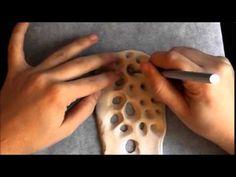 ▶ SONA Lab #1. The basic polymer clay Sona-bangle. - YouTube