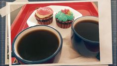 #cafe #cupcake #sweet perfect afternoon
