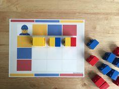 Juego de lógica con ladrillos LEGO - MOM BRICKS