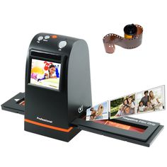 35mm film scanner. turns your old negatives into digital files! i know we all have tons of old negatives lying around our homes :)