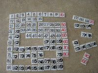 Classroom DIY: DIY Letter and Number Tiles