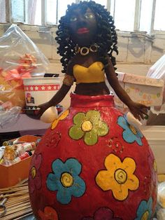 Artes e mil idéias: Minhas bonecas de Cabaça Landscape Quilts, Gourds, Disney Characters, Fictional Characters, Snow White, Wax, Disney Princess, Truffles, Craft