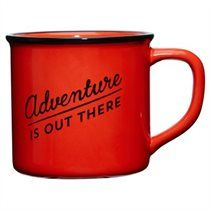 Camping Mug – Adventure Is Out There