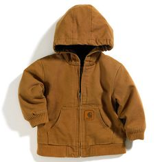 Carhartt for Kids Active Jacket - Infant & Toddler | CarharttCP8430. Getting Rae one of these