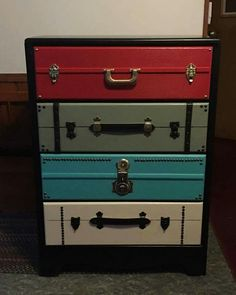 Diy Furniture, Project Ideas, Projects, Suitcase, Upcycle, Dresser, Paint Ideas, Bedroom, Decorating Ideas