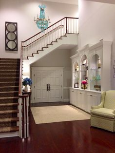 Our beautiful foyer!  U of SC Gamma Phi Beta