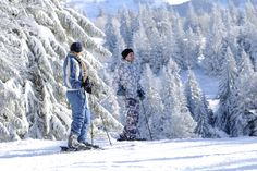 No need to go up high to enjoy a great day of skiing on the snowy slopes of the Vosges mountains. At the heart of the Vosges Mountains, the resort of Lac Blanc offers alpine skiers over 14 km of trails green, blue, red and black, plus a track dedicated to freestyle. © Kaysersberg Tourism
