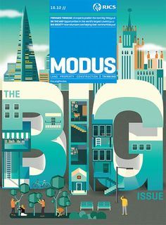 Modus cover - The BIG Issue - designed by Sunday Publishing and Illustrated by Jing Zhang.
