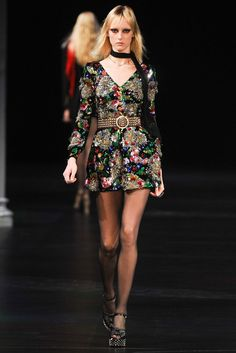 Saint Laurent Spring 2015 Ready-to-Wear - Collection - Gallery - Look 1 - Style.com summer dress
