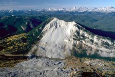 In 1903, more than 70 people were buried by a rock avalanche when the east side of Turtle Mountain collapsed.