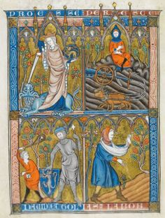 Somme le Roi, MS 28162, Fol 008v, ~1290-1300, France