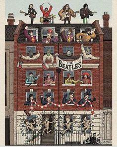 Beatles Poster, Beatles Guitar, Beatles Albums, The Beatles Story, Beatles Love, Beatles Art, Cool Rocks, The Fab Four, Best Albums