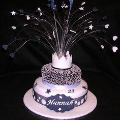 21st Birthday Cake For Girls 60th Cakes Bash