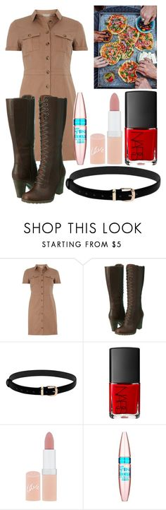 """""""Nyo Romano"""" by arithegeek11 on Polyvore featuring mel, Timberland, NARS Cosmetics, Rimmel and Maybelline"""