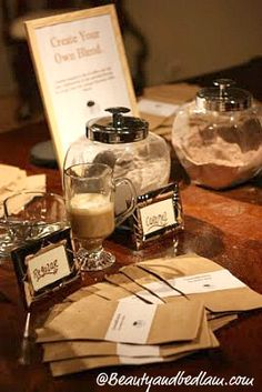 how to make a coffee bar1 Creative Party Ideas: DIY Coffee Bar