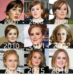 Adele threw the years, like fine wine improves with age <3