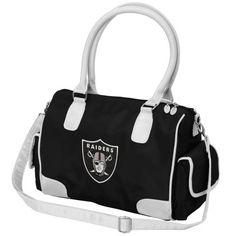 Oakland Raiders Women's Deluxe Handbag Purse