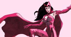 Scarlet Witch in Avengers: Millenium