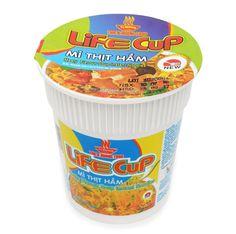 "Thien Huong Food ""Life Cup"" Meaty Flavour Soup Instant Cup Noodles 60 gram"