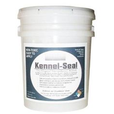 TriCoPolymer VOC Free Non Toxic 5-gal. Clear Satin Kennel-Seal-KS5 at The Home Depot