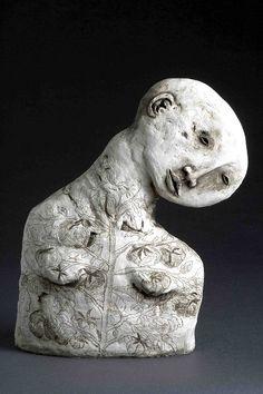 'LOVEapple' (2007) by Australian ceramic artist Amanda Shelsher (b.1971). via the artist's site