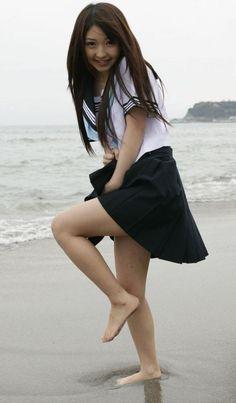 School Uniform Girls, Girls Uniforms, Girls Rules, Cute Swimsuits, Only Girl, Japanese Girl, Japanese School, Cute Girls, Skater Skirt