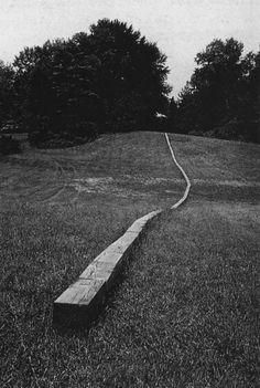 Carl Andre, Secant, (1977)