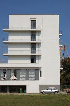 The Bauhaus accommodation block