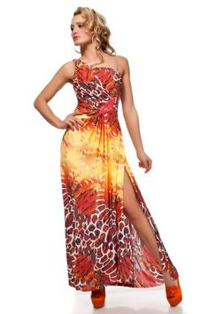 Celebrity style long dress black red orange grey brown Maxi floral summer spring wedding prom, evening gown, one shoulder tube strapless full length (orange) italy gownplanet http://www.amazon.co.uk/dp/B004X134W8/ref=cm_sw_r_pi_dp_n7Bzvb1DMKE26