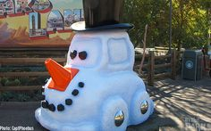 It's a Cars Land Christmas at Disneyland