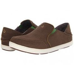 #FeaturedProduct: OluKai Nohea Mesh Shoes for Men - Mustang and Lime Peel