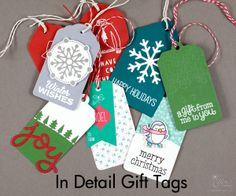 In Detail – Gift Tags
