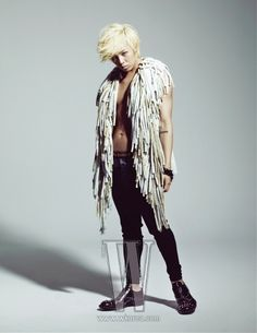 G Dragon...are those abs? Wow!