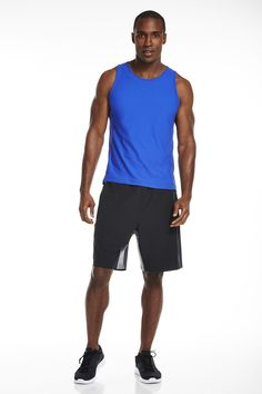 This outift is the Appalacian from the 1st release of FL2. My husband purchased this one, and he loves it! The sleeveless tank shows off his muscular arms, and the shorts are perfect for any fun athletic activity! #SummerinFabletics #ambsdr