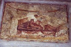 Las pinturas murales en la condenada ciudad de Pompeya brindan una visión sorprendente de la vida sexual de las personas de hace dos milenios.