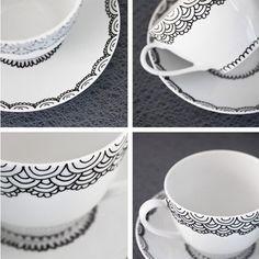 Home-Dzine - Paint on ceramics and porcelain