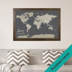 237 Best Our Products - Push Pin Travel Maps images | Framed maps ...