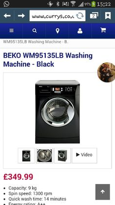 Beko washing machine <3
