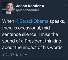 I miss No Drama Obama. Are we really MAKING AMERICA GREAT AGAIN??? We are now unstable people (all sides) - in an unstable country- in an unstable world.