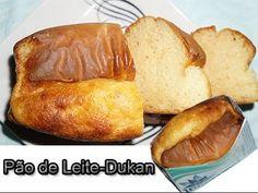 Dieta Dukan: Receita Pão de leite - YouTube