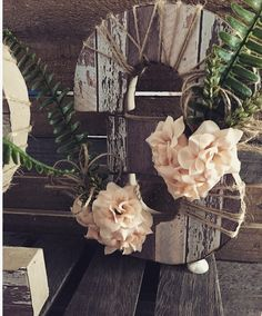 Rustic Table Numbers, Wedding Table Numbers, Floral Wreath, Wreaths, Plants, Home Decor, Table Numbers, Decoration Home, Room Decor