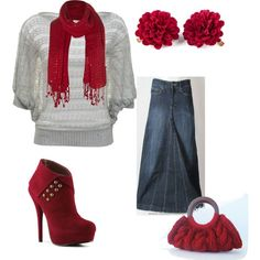 A fashion look from February 2013 featuring A|Wear sweaters, C Label ankle booties and Jane Norman scarves. Browse and shop related looks.