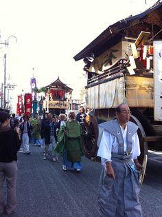 Sasayama matsuri by Michie Yamamoto, via Flickr