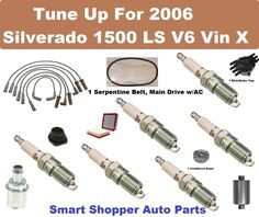 Tune Up Kit for 2001 Ford Ranger V6 3.0L Spark Plug Wire